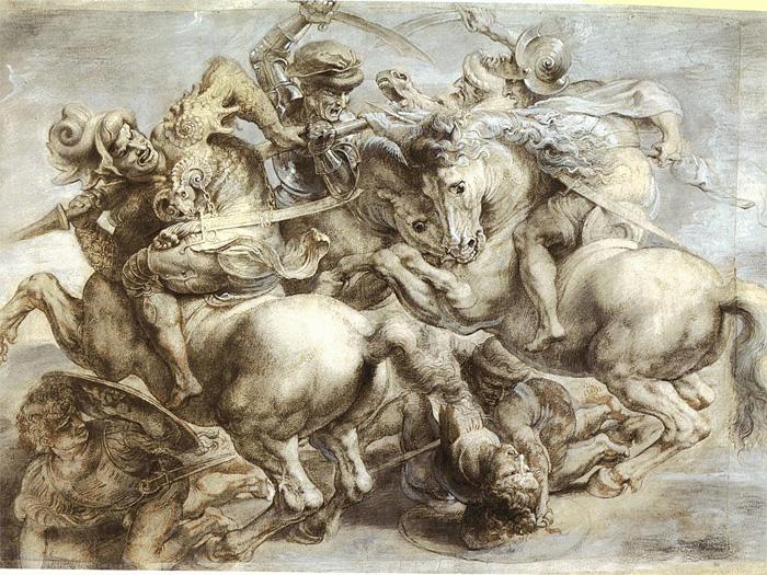 Chalkfest 2007 Leonardo Da Vinci Battle of Anghiari