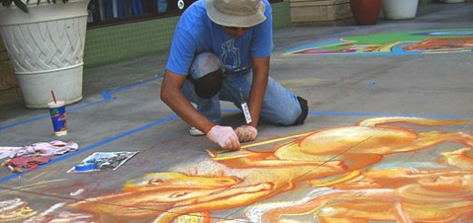 asadena Chalkfest Day one
