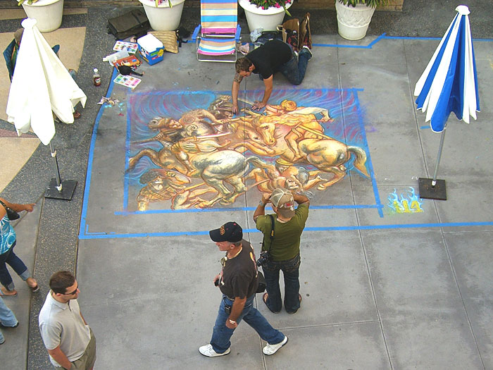 Chalkfest 2007 Pasadena Reinforcements