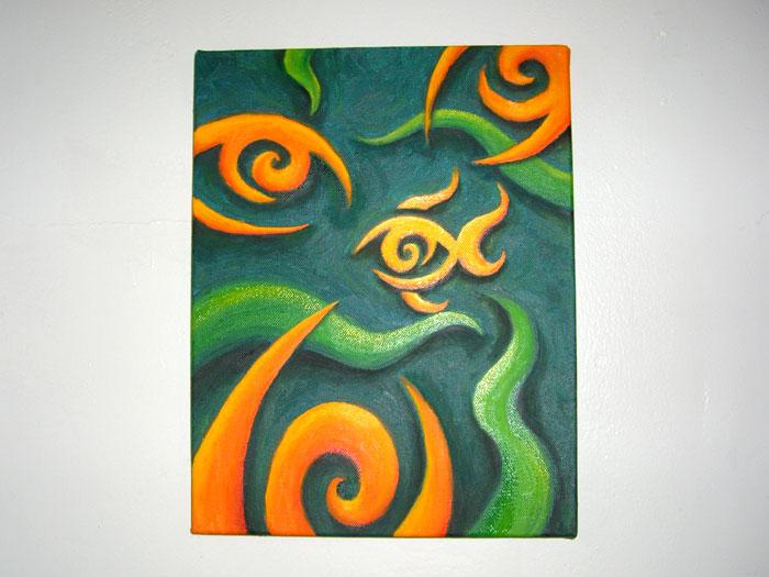 Painting fisheye one straight forward
