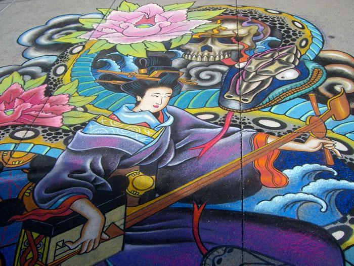 Pasadena Chalk Art 2008 | HenryColchado.com