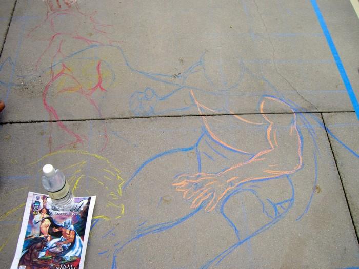 02 Pasadena chalk festival sketch