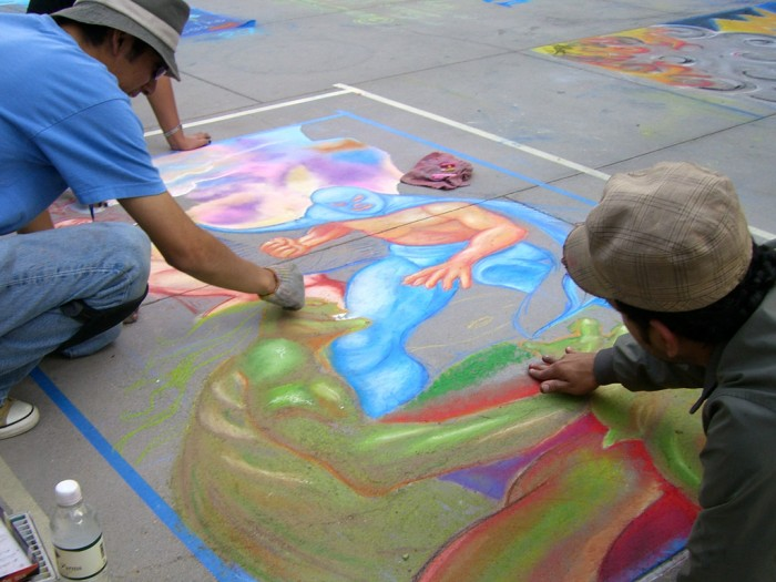 04 Pasadena Chalk Art