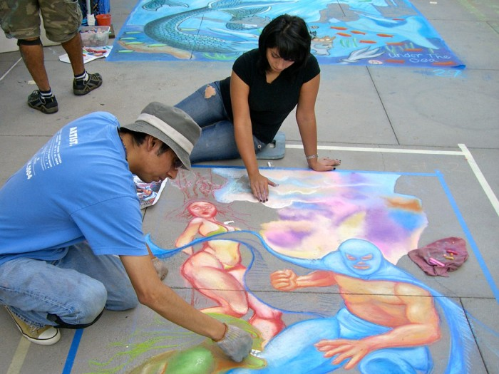 05 pasadena chalk art team colchado