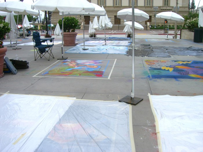07 Pasadena Chalk Art 2009