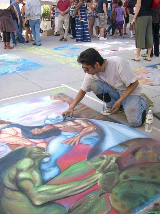 08 Pasadena Chalk Festival Painting