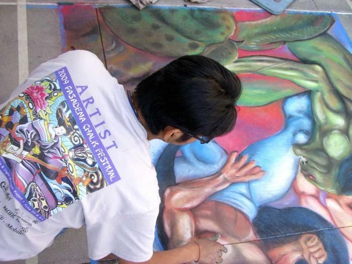 12 Chalk Art Henry