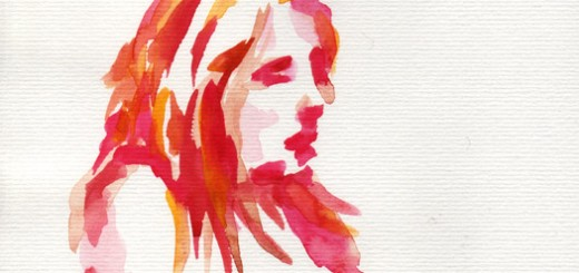 Water Color Figure Drawing by Henry Colchado