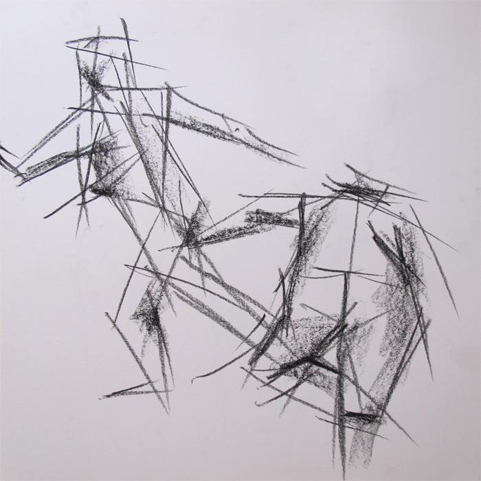 Henry Colchado - cubism sketches