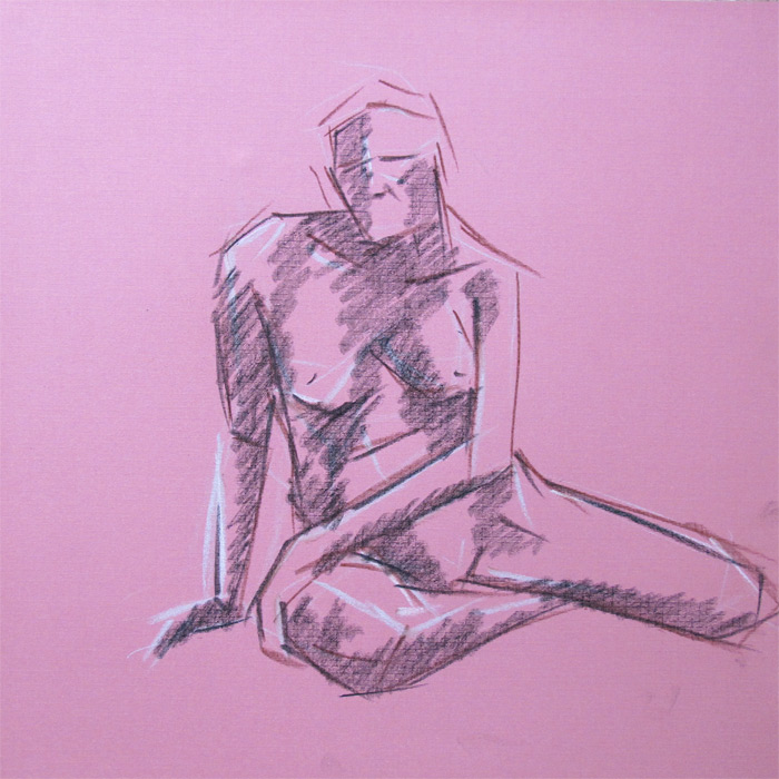 Henry Colchado - sketch - life drawing