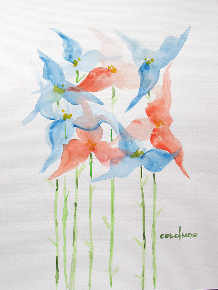 Buy Viagra Eu Henry Colchado Abstract Watercolor Paintings 13