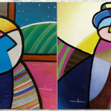 Henry colchado Color people painting